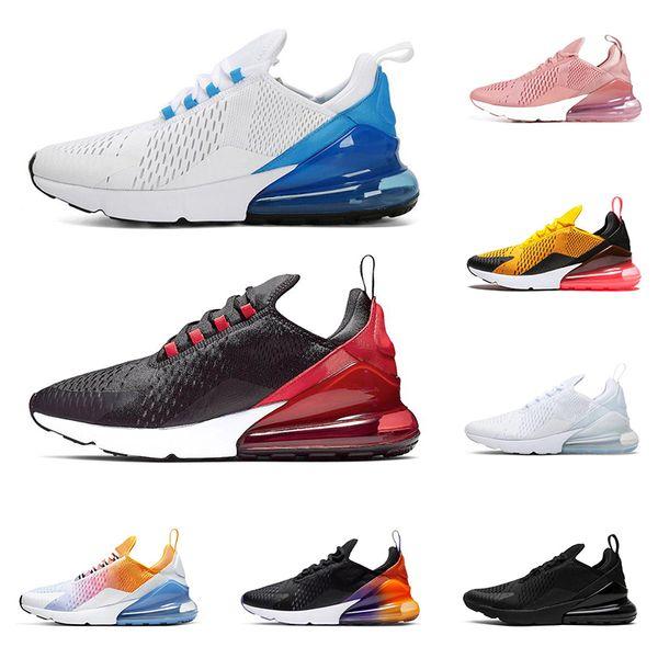 nike air max 270 hombres calientes mujeres zapatos para correr Photo Blue triple negro BARELY ROSE Bred Tiger zapatillas de deporte para hombre zapatillas de deporte al aire libre
