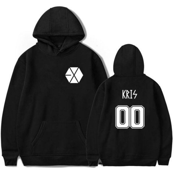 Hao Shirt Lu Wu Yi All Periphery Sweater Exo Men And Women Plus Velvet Trend Even Hat Guard Answer Aid Service T Shirts