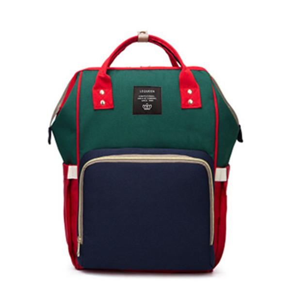 Green-Blue Backpacks