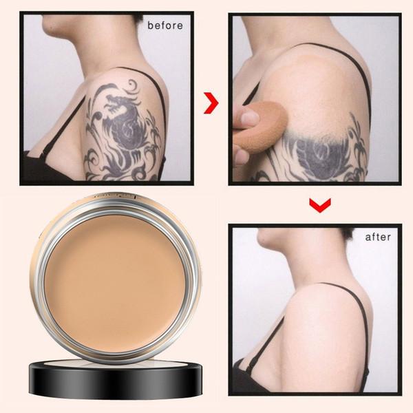 Крем Pudaier для полного покрытия скрывающий тональный крем, корректирующий макияж,