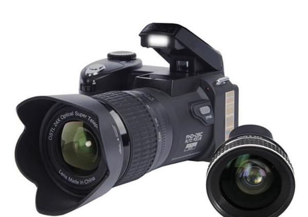 Nova PROTAX POLO D7100 câmera digital 33MP FULL HD1080P zoom óptico de 24X Auto Focus Professional Camcorder