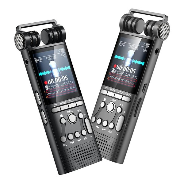 8GB professionale Registratore Audio Mini dittafono + Noise Reduction lettore MP3 registrazione vocale ad alta fedeltà di riproduzione della qualità del suono