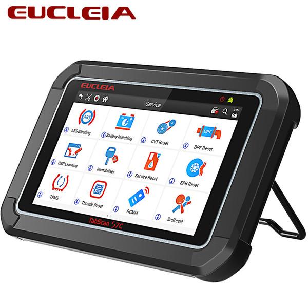 EUCLEIA S7C Automotive scanner Universal Car Smart Diagnostic Tool OBD Code reader For ABS+EPB+CVT+TMPS Reset +Oil Service Reset