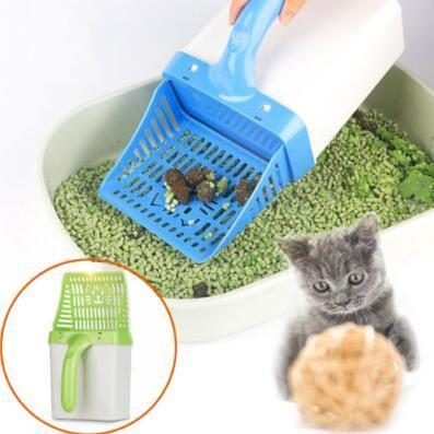 Cat Litter Shovel Quick Easy Pet Cleaning Tool Scoop Cat Sand Cleaning Products Scoops For Cat Toilet Training Kit CCA11066 120pcs