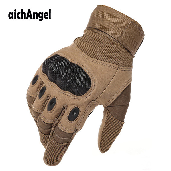 Army Gear Tactical Gloves Full Finger SWAT Combat Gloves Anti-skid Paintball