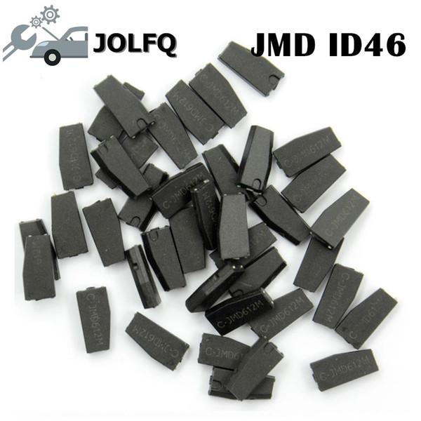 il trasporto libero in bianco JMD 46 Chip originale Per JMD programmatore chiave auto ID46 Chip Per CBAY Handy Baby Car Key Copy