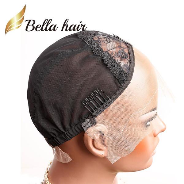 Black & S & Front Lace Cap