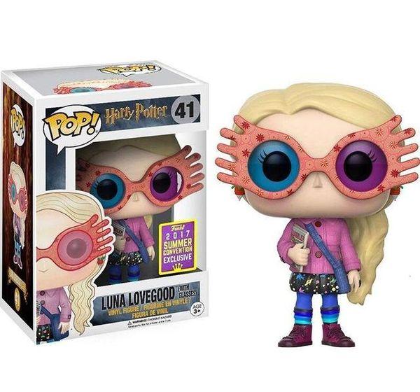 FUNKO POP Harry Potter Collection Model Kids Toys Luna Glasses Doll 2019 Action Figure Boy Toys for Children