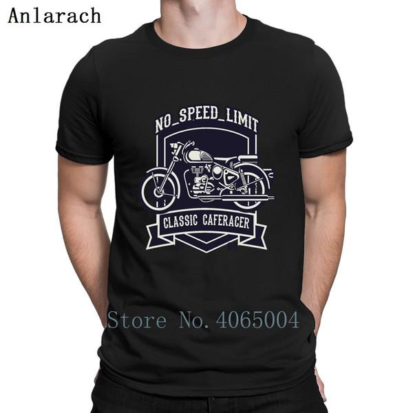 Maglietta classica Cafe Racer Design Stampa nuova moda Famoso costume Estate modello Tee Shirt Plus Size 3xl Shirt