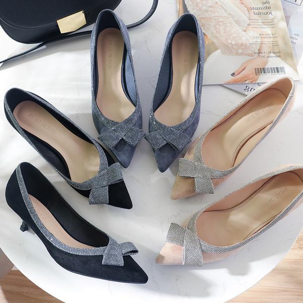 Goddess2019 - Chaussures à talons - Automne - Chaussures de travail pour femmes
