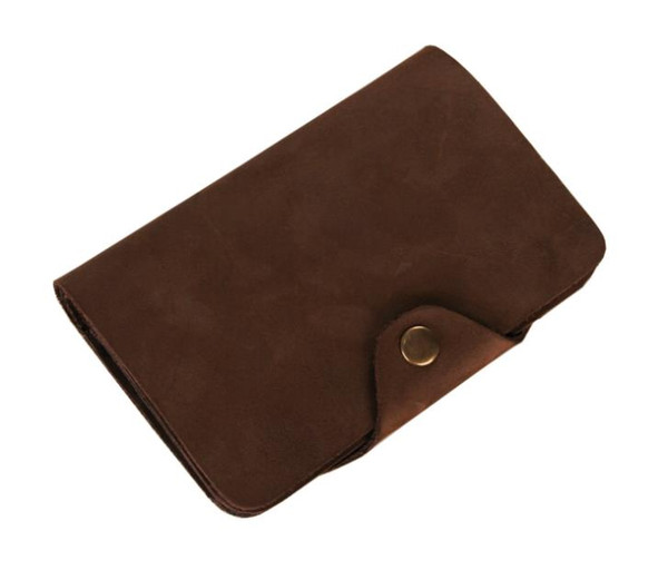 Hot New Genuine Leather Wallet retro wallet manufacturers direct purse shorts