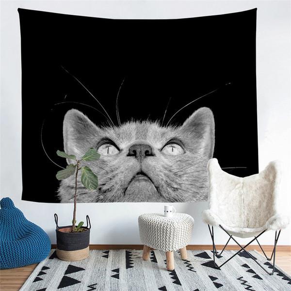 Home Furnishing Animal Tapestry Wall Hanging Sandy Beach Picnic Throw Rug Blanket Camping Tent Sleeping Pad