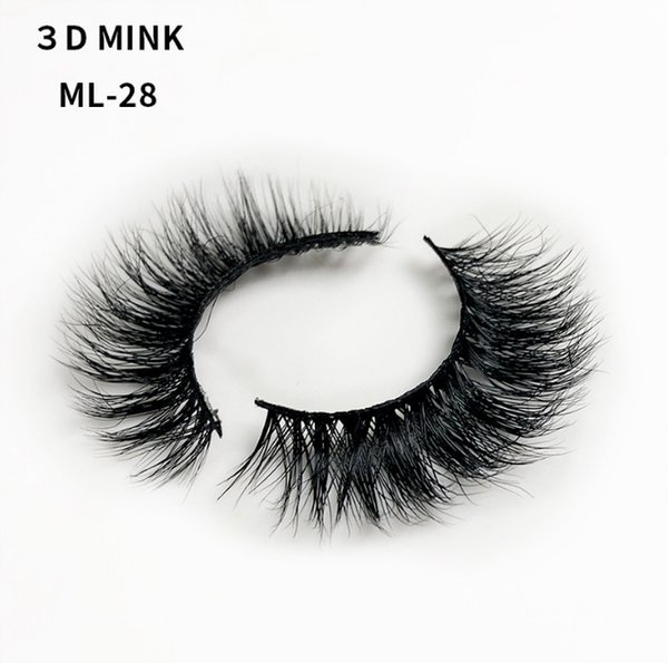 CHIC GIRLS BEST CHOICE! Mink Lashes Natural Length Volume 3D Layered Effect False Eyelashes Lightweight and Reusable Handmade Natural Lashes