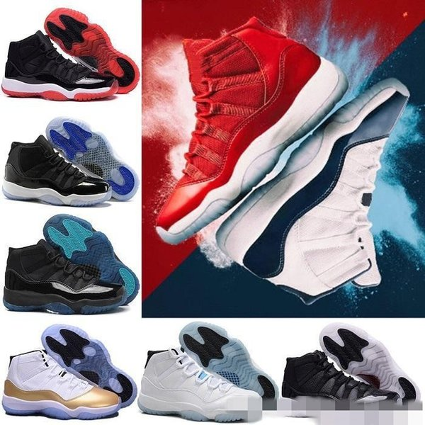 11 11s Gym Red Chicago Midnight Navy WIN LIKE 82 96 UNC Space Jam 45 Legend Gamma Blue 72-10 Bred Concord men Basketball Shoes sports Sneake