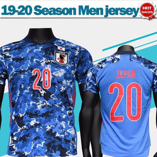 2020 Giappone calcio domestico Jersey # 4 HONDA 19/20 squadra nazionale di camicia di calcio # 10 KAGAWA # 9 OKAZAKI uomini uniformi di gioco