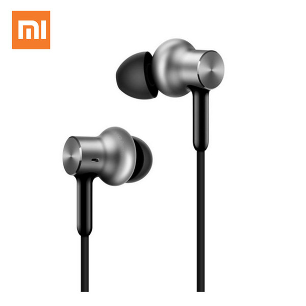 Original Xiaomi Mi Hybrid Pro Earphone Circle Iron Hd Triple Unit Dual Dynamic Balanced Armature Mic Graphene In-ear Wire Audio T190619