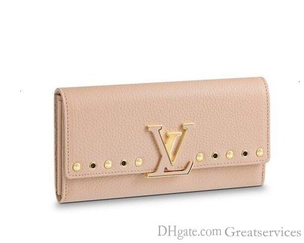 Capucines Wallet M62763 neue Frauen-Modenschauen Exotische Leder Taschen Iconic Taschen Kupplungen Abendkette Wallets Purse