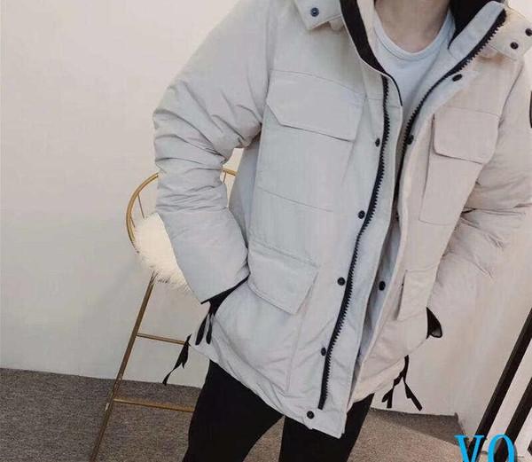 Designer Mens Parkas Doudounes Vestes Canada tirettes de luxe Femmes Long Goose hiver chaud Parkas Canada Down Jacket CoatV0