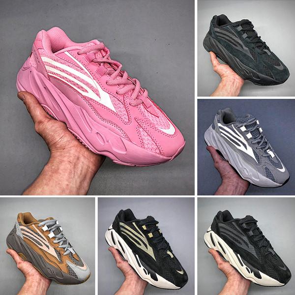 Adidas Yeezy 700 2019T 700 Wave Runner 2019 v1 Mauve Inertia v2 Static Geode кроссовки Kanye West Мужчины Женщины Дизайнерские спортивные кроссовки с коробкой