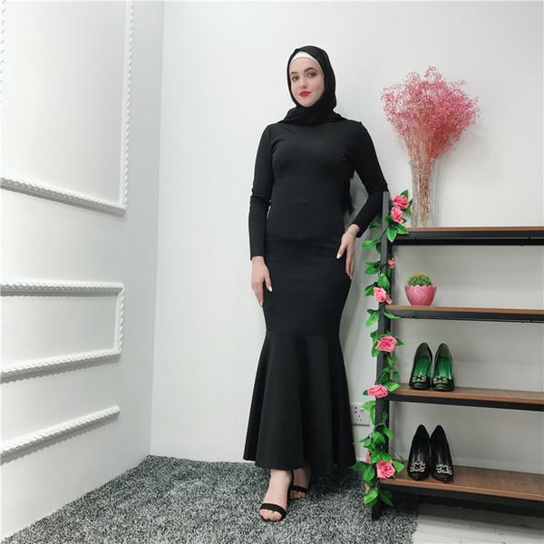 LR251 Lüks Müslüman Abaya Tam Elbiseler Uzun Robe Abiye Jubah Orta Doğu Eid Ramazan İslam Elbise
