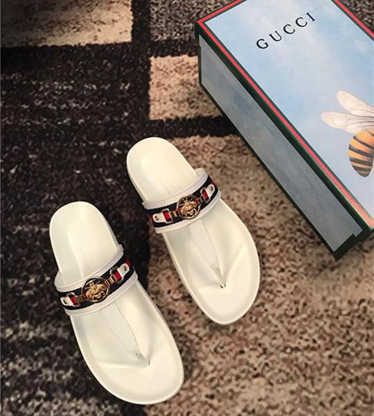 Hot 2019 Summer New Men's Casual Sandals Outdoor Men's Slippers Classic Beach Solid Shoes Genuine Leather Men's Flip Flops