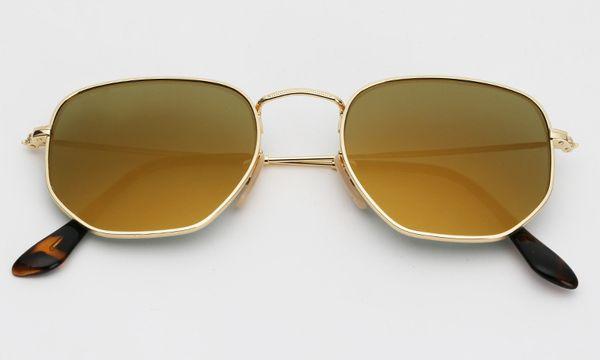 001/93 oro / lente de espejo de oro viejo