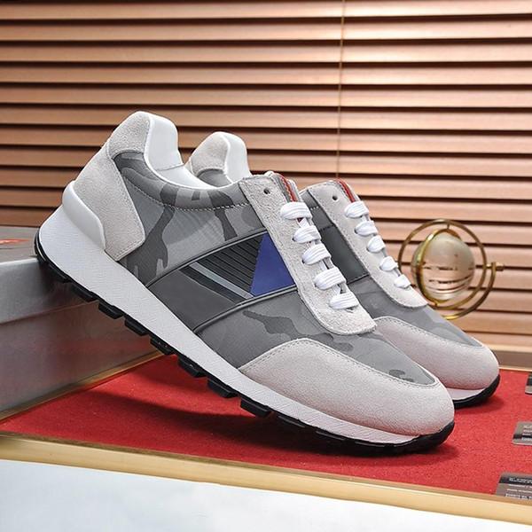 2019 Zapatos de hombre Casual 2019 Moda de lujo de moda Atlético Scarpe da uomo Zapatillas de deporte de tela técnica Zapatos de hombre Chaussures de diseño transpirable