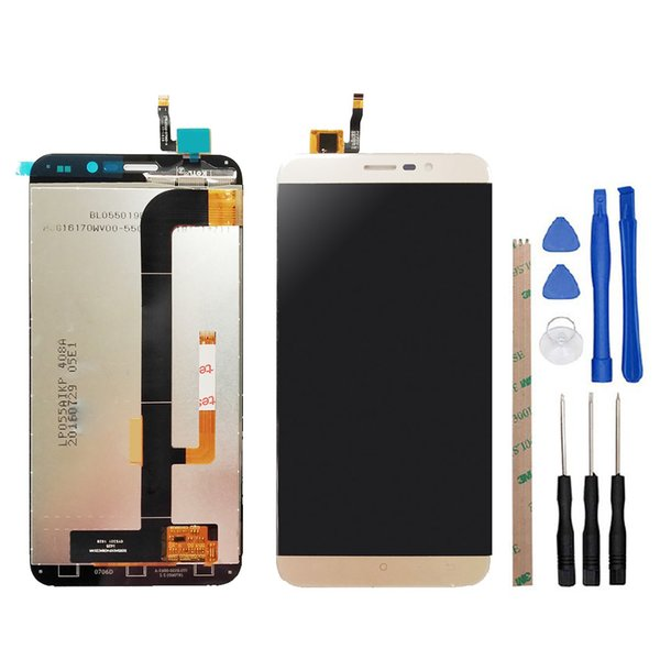 5.5 inch For Cubot Note S LCD Display with Touch Screen Panel Sensor Lens Glass Front Repairment Part with Free tools