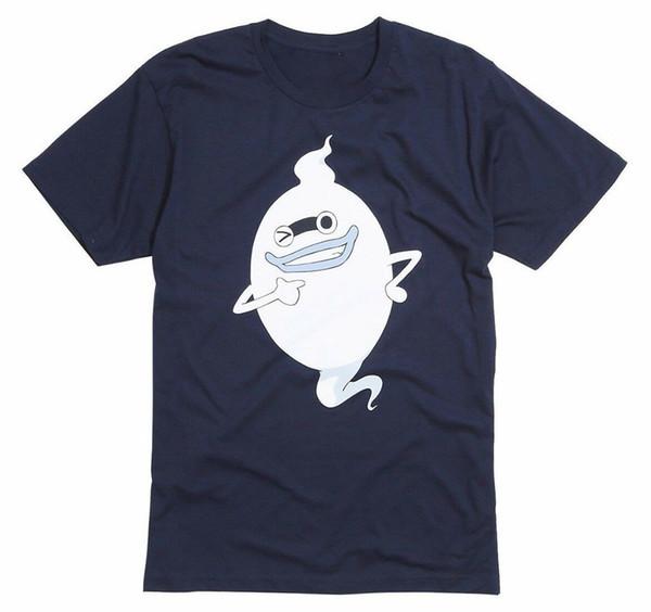 Аниме Yo-Kai Yokai Часы Whisper Футболка Nwt 100 Аутентичные Красочный Tee Shirt