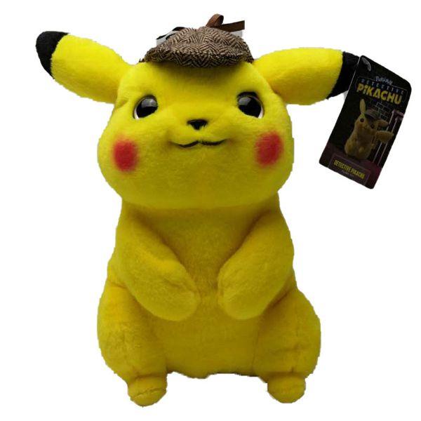 Wholesale Pikachu Plush Toy 11inch Anime Cartoon Movie Pikachu Stuffed Plush Doll Children's Toy Kids Birthday Gift Fast free shipping