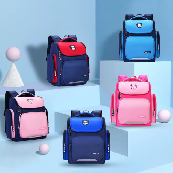 best selling Children's space large capacity Primary printing Grade 1-3-6 Children's school space bag large capacity Primary School schoolbag printing Gr