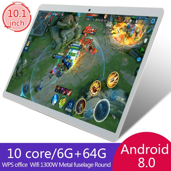 10 1 quot tablet pc 64g ten core android 8 0 dual im camera wifi gp phone phablet