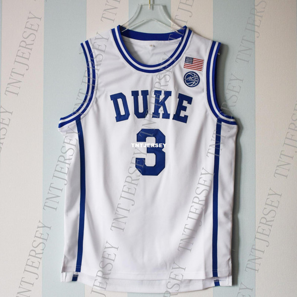 Cheap custom Grayson Allen #3 Duke Blue Devils Basketball White Jersey Stitched Customize any number name MEN WOMEN YOUTH XS-5XL