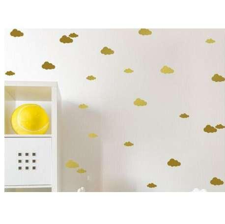 DIY Wall Simple And Creative Multi-size Clouds Removable Wall Stickers Wallpaper Hot Sale Personality
