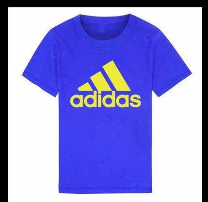 100% Cotton Designer Print Short Sleeve T-Shirt Boys Girls Fashion Casual Short Sleeve