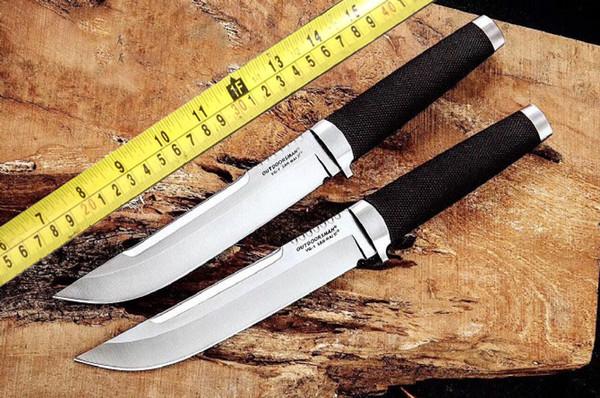 Дикий Человек Нож Выживания Японский Стиль Меча Самурая Холодное оружие Самурая Ножа Покрытия Пояса с оболочкой быка 1шт