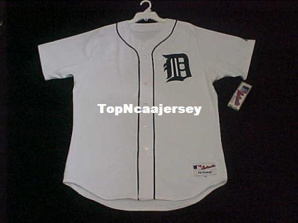 Cheap Majestic DETROIT blank HOME WHITE On Field Jersey Mens Stitched Wholesale Big And Tall SIZE XS-6XL baseball jerseys