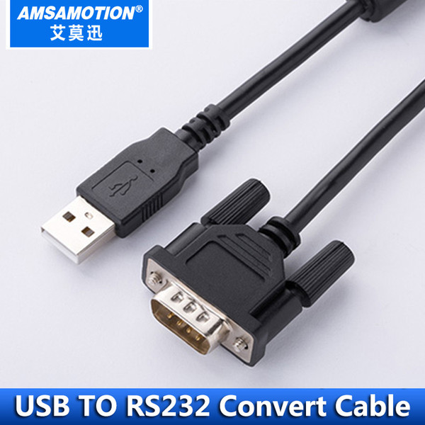 top popular USB to RS232 Serial Port DB9 Pin Cable Adapter USB RS232 Convert Cable Industrial Grade Cable With Magnetic Ring Protection 2021