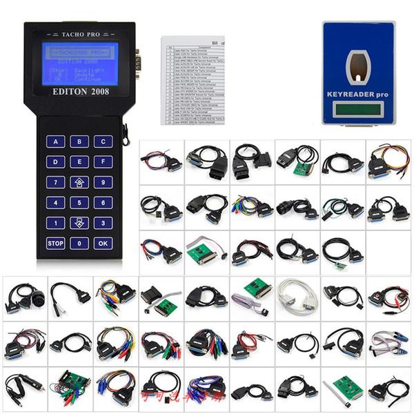 2019 Unlock Version Odometer Correction Universal Dash Programmer Super TACHO PRO 2008 Mileage Correction Tool Free Shipping