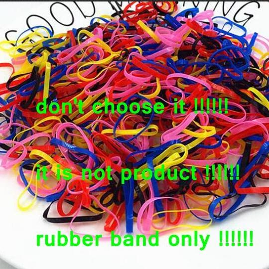 Rubber Band (Not Barrettes)