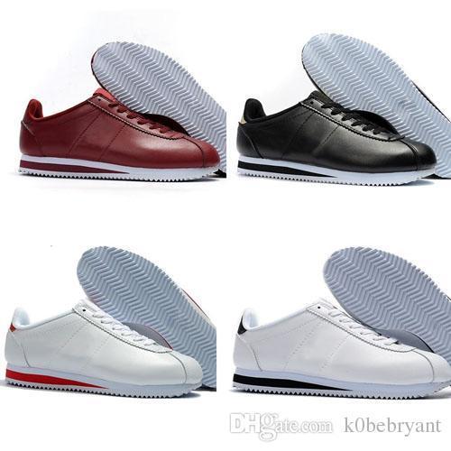 2019 новый горячий продавать cortez обувь досуг оболочки обувь кожа мода повседневная