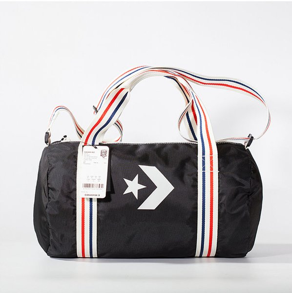 Con Courtside Sport Duffel Bag - Holdall black and blue Print white logo Sport&Outdoor Packs sport star freeshipping Original img contact us