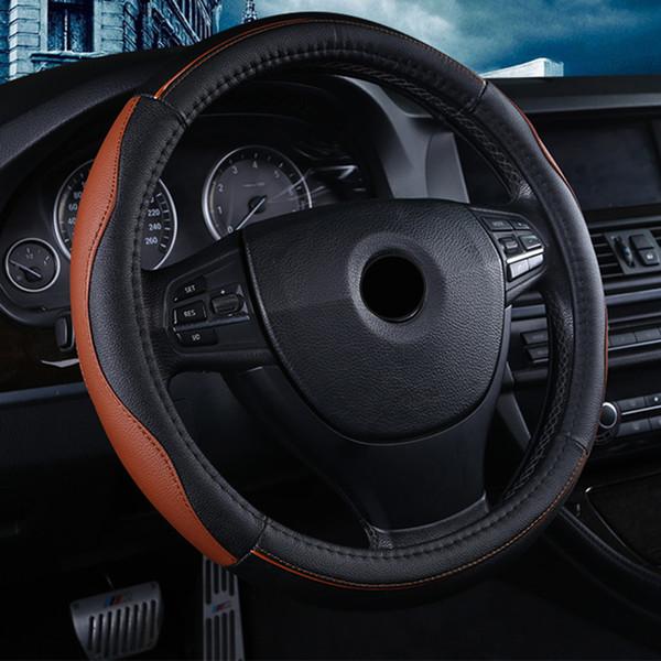 couvercle volant en cuir de haute qualité est adapté pour Lada MiNi 38cm Pièces d'auto