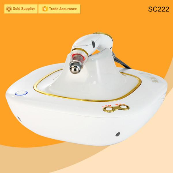 Máquina de estiramiento de la piel de RF para ojos Eliminación de arrugas Lifting facial Rejuvenecimiento de la piel Equipo de belleza de radiofrecuencia con masaje de vibración