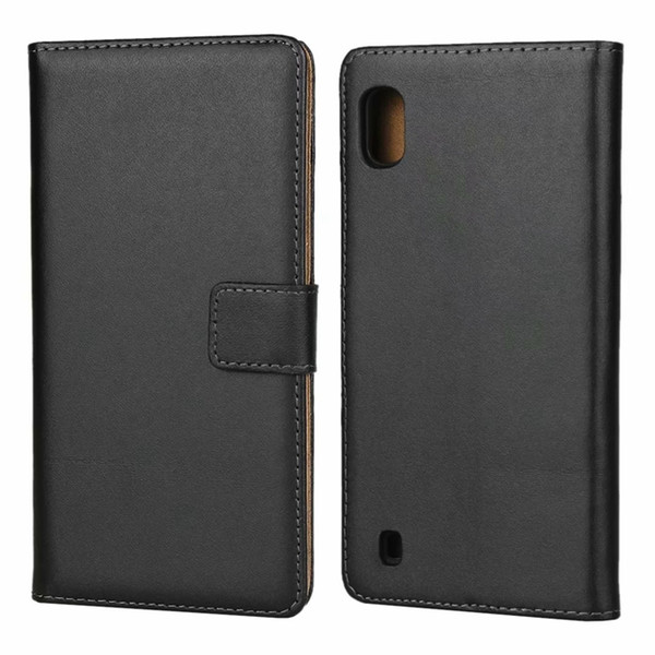 Genuine Wallet Leather Case For Samsung Galaxy S10 5G S10E A10 A70 A30 A50 A2 Core M20 M30 A9 A7 2018 J4 J6 Plus Flip Stand Cover Pouch 1pcs