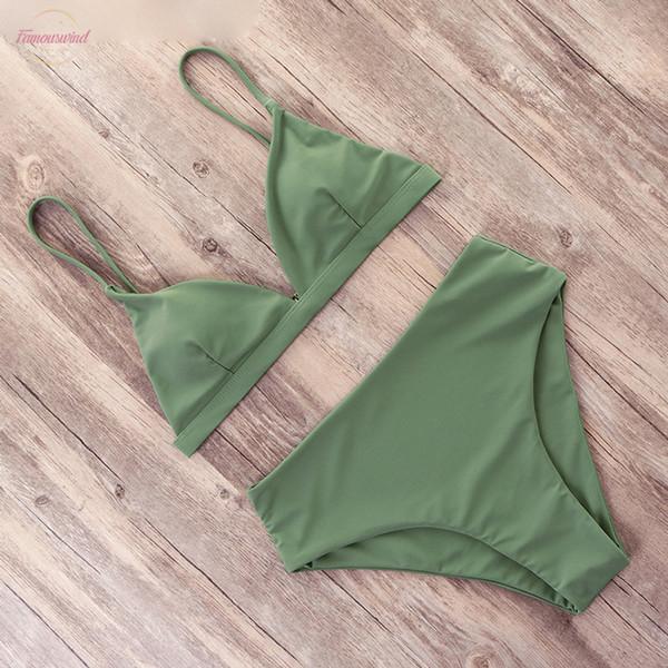 Sexy bikini imprimé 2019 chaud Maillot de bain femme Maillots de bain String Push Up Set Natation taille haute Bikinis Les costumes maillot de bain