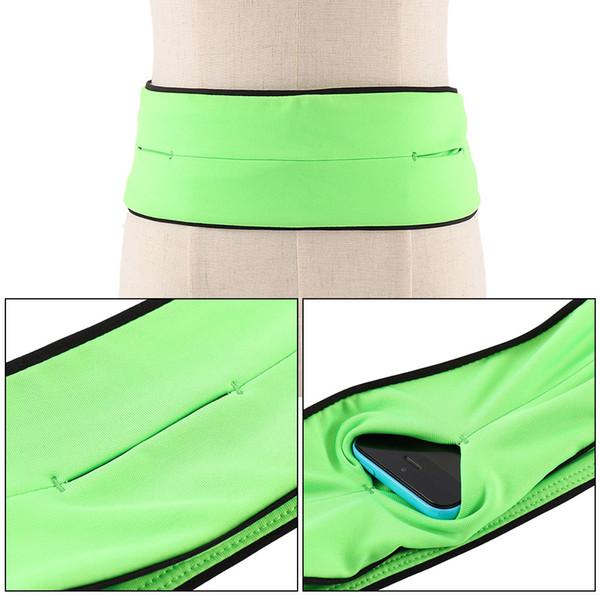 Lady Men Running Phone Bag Pouch Jogging Belt Race Marathon Cycling Waist Belly Bag Bumbag Waistbag Wallet Gym Sport Accessories