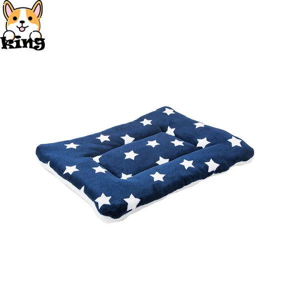 top popular Pet Mat Spring and Autumn Dog Blanket Quilt Four Seasons Fleece Small Medium Large Dog Kennel Coral Fleece Blanket 2020