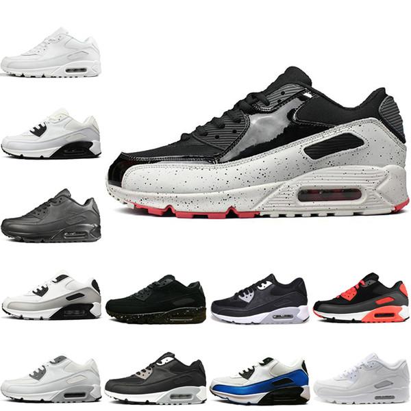 Новые Мужские женские туфли классические Мужские и женские кроссовки Черный Красный Белый Спортивный Тренер Воздушной Подушке Поверхность Дышащая Спортивная Обувь 40-45