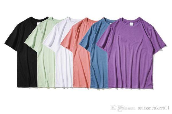 2019 homens verão / mulheres camisetas homens tops carta impressão t shirt dos homens clothing marca de manga curta camiseta mulheres tops2